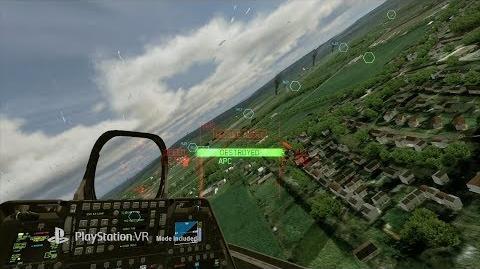Ace Combat 7 Skies Unknown - Paris Games Week VR Trailer
