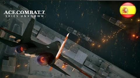 Ace Combat 7 - PS4 XB1 PC - Erusea strikes back (Gamescom 2017 Spanish Trailer)