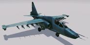SU-25TM Frogfoot Hangar