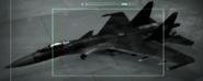 Su-37 Razgriz color Hanga