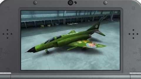 "F-4E ""PIKMIN & OLIMAR"" Footage"
