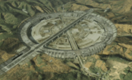 Cruik Fortress from above