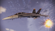 FA-18F -Avalanche- Flyby 1