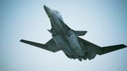 X-02S Strike Wyvern Flyby No Emblem 10