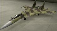Su-37 Standard color hangar