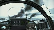 Gripen c Cockpit view