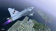 Gripen C ACX Flyby 3