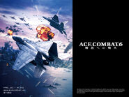 Ace Combat 6 Logo Wallpaper B 1024x768