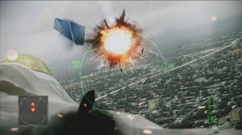 Ace Combat Assault Horizon Flythrough Video
