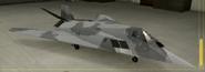 F-117A Special color hangar