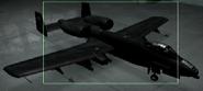 A-10A Razgriz color Hangar