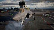 AC7 F-35C Taking Off
