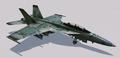 """F A-18F """"Grun"""" Skin Hangar"""