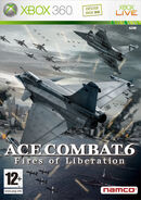 Ace Combat 6 Box Art France
