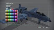 Color Customization Menu