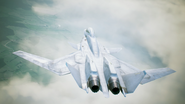 X-02S Strike Wyvern Flyby No Emblem 13