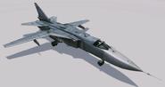 Su-24MP Fencer Hangar