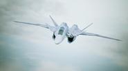 X-02S Strike Wyvern Flyby No Emblem 11