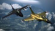 Dark, Shining Set Aircraft Flyby AC6