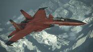 Su-33 -CRIMSON WING- Flyby