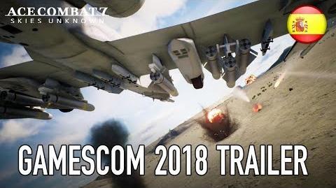 Ace Combat 7 Skies Unknown - PS4 XB1 PC - Gamescom 2018 Trailer (Español)