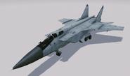 MiG-31B Foxhound Hangar