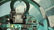 ACAH MiG-21bis Cockpit