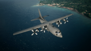 C-130 takeoffs from Fort Grays Island
