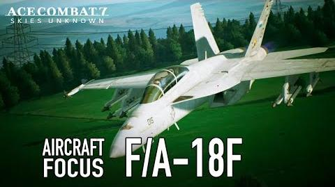 Ace Combat 7 Skies Unknown - PS4 XB1 PC - F A-18F Aircraft Focus