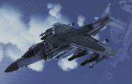 AV-8B Harrier II plus Flyby