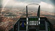 F-16F cockpit