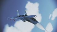 Su-33 Flanker-D Flyby 2 by RythusOmega