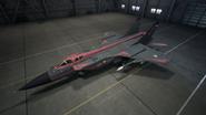 MiG31B AC7 Schwarze Hangar