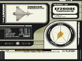 Ace Combat 3: Electrosphere/Летательные аппараты