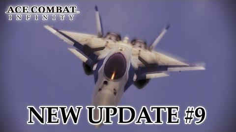 Ace Combat Infinity - PS3 - Update 9 New Contents & Adjustments (Trailer)