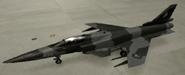 X-29A Knight color hangar