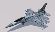 """F-16C """"Silber"""" Skin Hangar"""