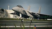 AC7 F-15J Loading Screen Take-Off