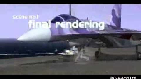 Ace Combat 2 - Making of Opening Movie