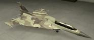 F-16XL Standard color hangar