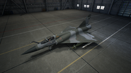 Mirage 2000-5 AC7 Color 2 Hangar