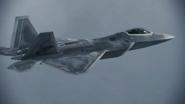 F-22A Gryphus off border Adriatic