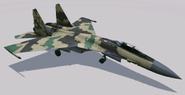 Su-35 Flanker-E Hangar