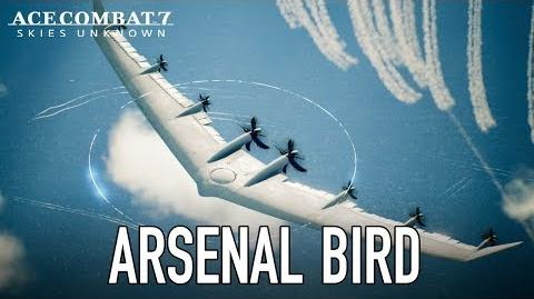 Ace Combat 7 Skies Unknown - PS4 XB1 PC - Arsenal Bird Trailer