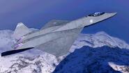 YF-23 ACX Flyby 1