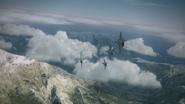 Avalanche Squadron Turning