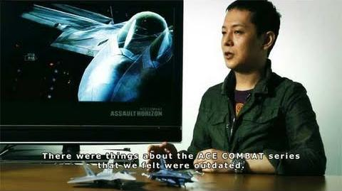 ACE COMBAT ASSAULT HORIZON - PS3 X360 - Behind the Scenes