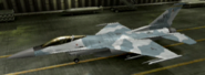 F-16C Soldier color hangar