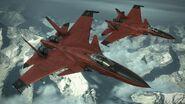 Su-33 -CRIMSON WING- Flyby 4