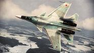 ACAH Su-37 Color 2 Flyby 4